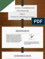 Electronic Fundamental (Mechanical) Triac (3)
