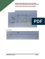 Diseno de Estructuras Metalicas Para Techos