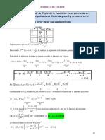 Ejercicio con formula de taylor