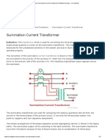 What is Summation Current Transformer_ Definition & Types - Circuit Globe