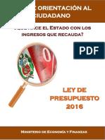 Guia Orientacion Ley de Ppto 2016