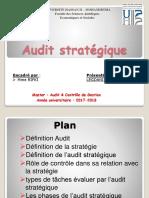 Audit Strategique