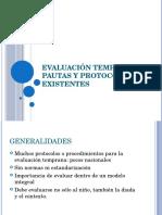 Evaluacion Temprana Protocolos