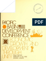 Pacific Basin Development Conference