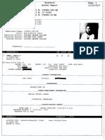 Alexis Perez's Arrest Report