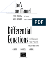 133899961 Instructor Solutions Manual Differential Equations With Boundary Value Problems 2e Polking