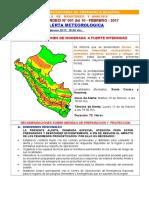 Boletin Alerta Meteorológica - COER