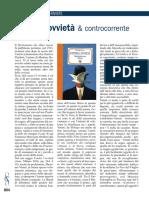 Carlo Alessandro Landini - Studi Cattolici 669 (nov. 2016, pp. 804-805) - Controcorrente - Mente & Cervello