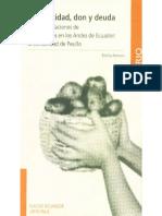 Reciprocidad, don y deuda. Relaciones y formas de intercambio en los Andes ecuatorianos - Emilia Ferraro