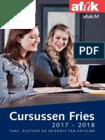 cursusbrochureFries2017-2018