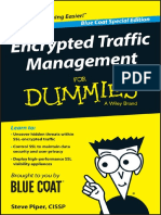 Encrypted Traffic Management for Dummies Blue Coat Special Edition