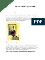 Si Maquiavelo Fuera Asesor Político en México