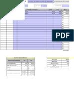 Planilha de NF de Entrada de Importacao