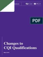 Information Sheet CQI Students