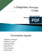 The Subprime Mortgage Crisis.pptx