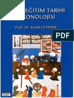 Erdal Ceyhan - Turk Egitim Tarihi Kronolojisi