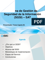 Presentacion Kickoff SGSI - SAT v1 2