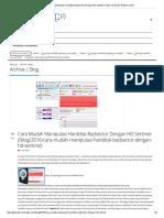 Cara Mudah Manipulasi Harddisk Badsector Dengan HD Sentinel _ Toko Komputer Rakitan Harco