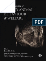 Applied Animal Behaviour & Welfare