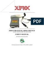 Arm-usb-ocd and Ocd h Manual