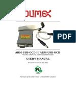 Arm-usb-ocd and Ocd h Manual