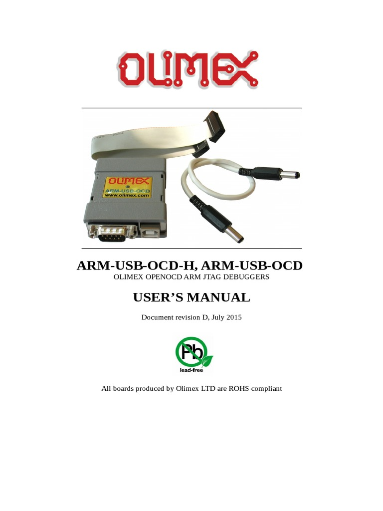 Arm-usb-ocd and Ocd h Manual | Installation (Computer