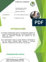Contaminacion Sonora EXPO
