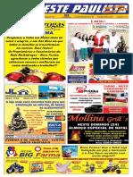 "Jornal ""O Oeste Paulista"" 2017-12-22 Nº 4271 - Santo Anastácio, SP"