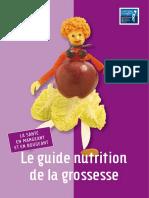 guide nutritionnel de la grossesse
