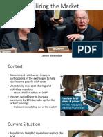 Current Health Policy Presentation