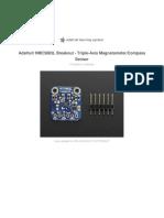 HMC5883L AdaFruit DataSheet