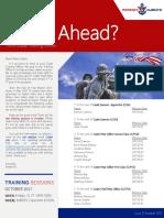 Training Newsletter 1
