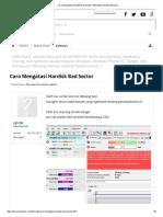 Cara Mengatasi Hardisk Bad Sector _ Windows Portal Indonesia