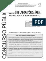 Tecnico Lab Hdraulica Saneamento