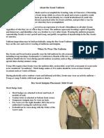 BSA Scout Uniform