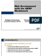 Web Development With the ABAP Workbench
