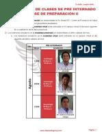 2 Cronograma Pre Internado Fase II