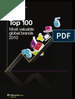 Custom BrandZ Top100