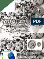 Aplicación Del Método de Los Elementos Finitos (Mef) Al Cálculo de Tensiones en Engranajes Cilíndricos de Dientes Rectos de Material Plástico
