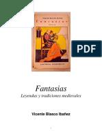 Vicente Blasco Ibañez Fantasias