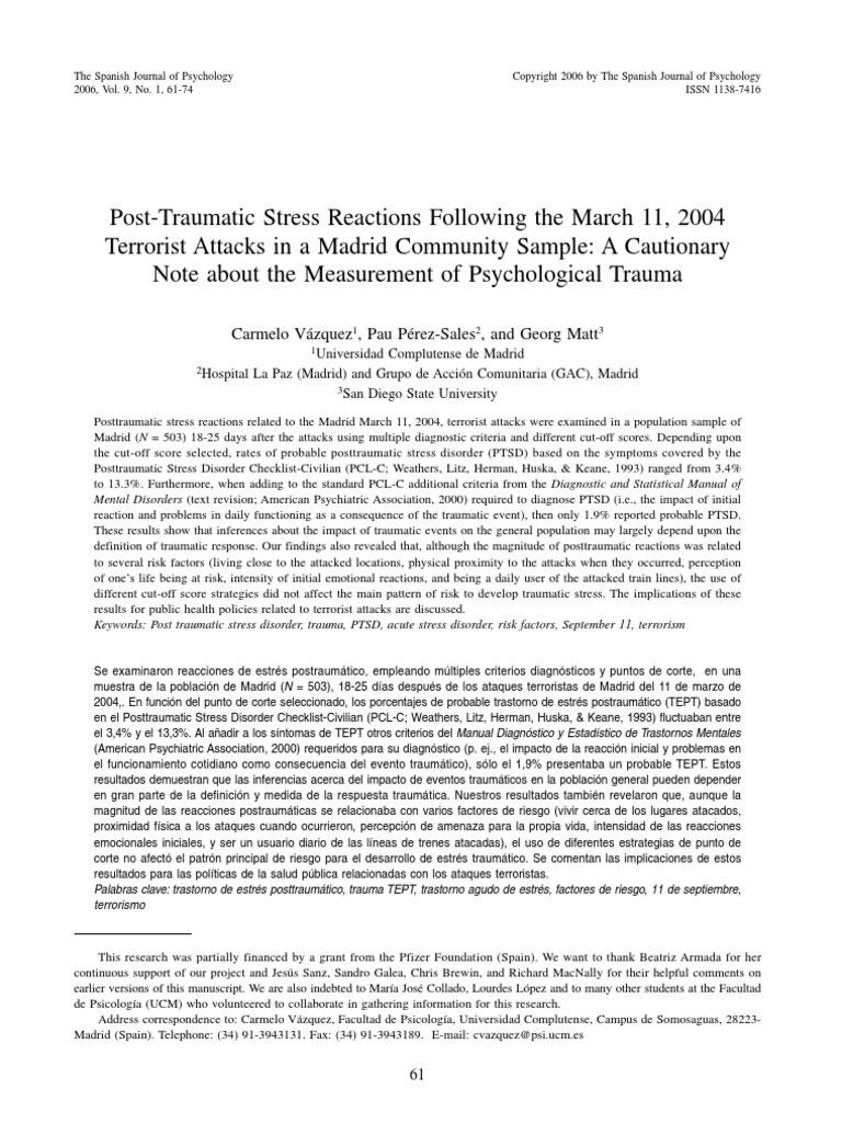 Vazquez-Hervas-Perez-Measurement of Psychological Trauma ...