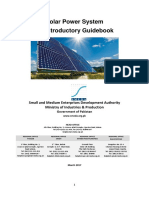 Solar Power System-An Introductory Guidebook