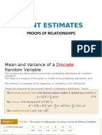 Lecture Slides - 04A - Point Estimates -Proofs