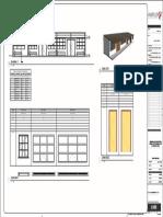Modulo de Habitaciones - Plano - A103 - Corte y Detalles