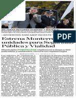 21-12-17 Estrena Monterrey 100  unidades para Seguridad  Pública y  Vialidad
