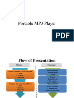 Brand Behavior - Portable Mp3 Player by Anubhab & Krishna - IWSB