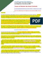 14-05-2012-Cessation et Désistement de l'Union Banque Suisse, la Banque des Règlements Internationaux + Preuves
