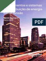 Schneider_Tabela de Preços - Equipamentos e Sistemas de Distribuição de Energia de BT 2014