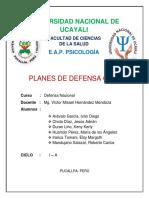 Planes de Defensa Civil