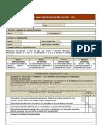 Ficha de Monitoreo Al Desempeño Docente - 2017